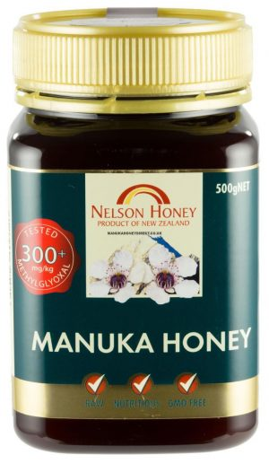 Nelson Manuka Honey MG 300+ - 500g