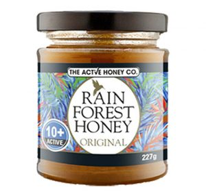 The Active Honey Co. Rainforest Honey Active 10+ - 227g