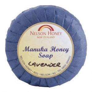 Natural Soap with Manuka Honey and Lavendar (d)