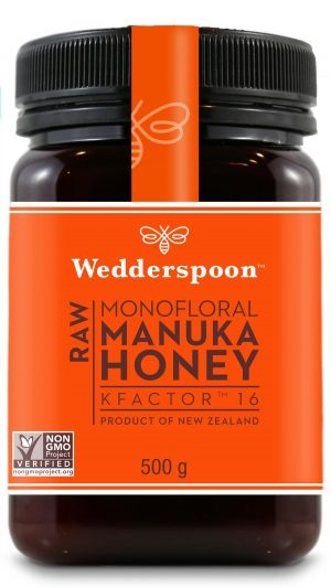 Wedderspoon RAW Manuka Honey KFactor 16+ - 500g