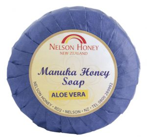 Natural Soap with Manuka Honey and Aloe Vera (d)