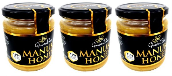 QueenBee Manuka Honey MG115 340g - TRIPLE PACK
