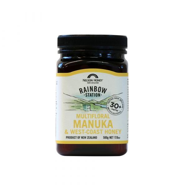 Rainbow Station Multifloral Manuka & West Coast Honey MG 30+ 500g