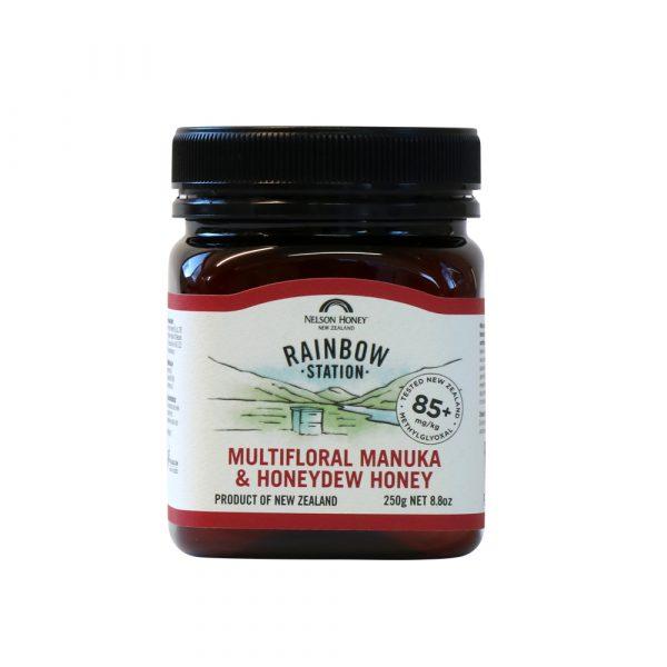 Rainbow Station Multifloral Manuka & Honeydew Honey MG 85+ 250g