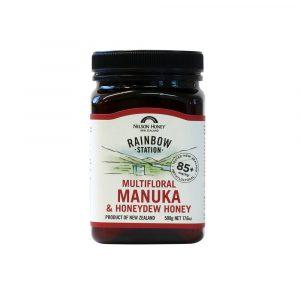 Rainbow Station Multifloral Manuka & Honeydew Honey MG 85+ 500g