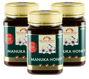 Nelson Manuka Honey MG 100+ - 3 x 500g TRIPLE PACK