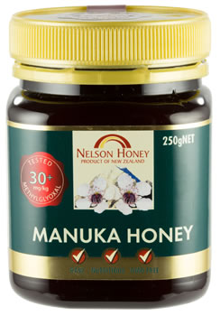 Nelson Manuka Honey - MG 30+ 250g